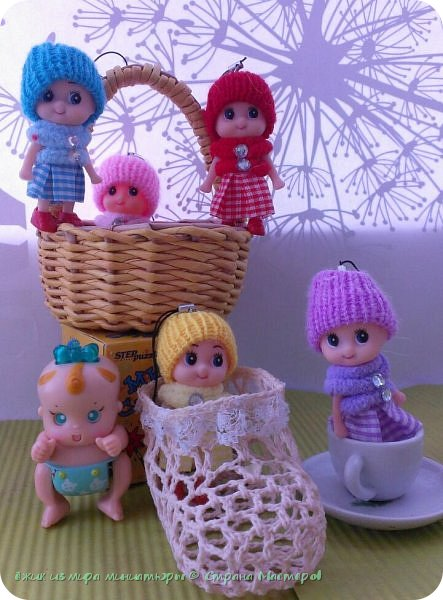 Здравствуй СМ. Покажу Вам прибавление малышей в моем кукольном семействе. фото 3