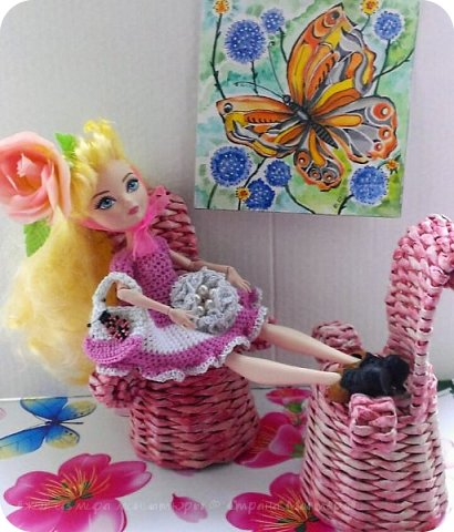 Здравствуй СМ. Сегодня сдаю работу на конкурс '' Наряд для вечеринки по случаю окончания лета''    http://stranamasterov.ru/node/1044307#comment-14129345 Давайте посмотрим что получилось. Это Алиса,она рада знакомству с вами. фото 6