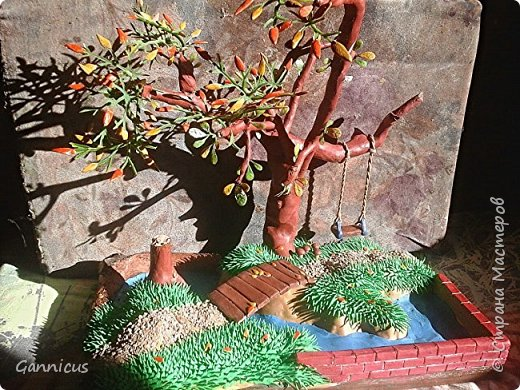 тема осень.из пластилина. фото 1