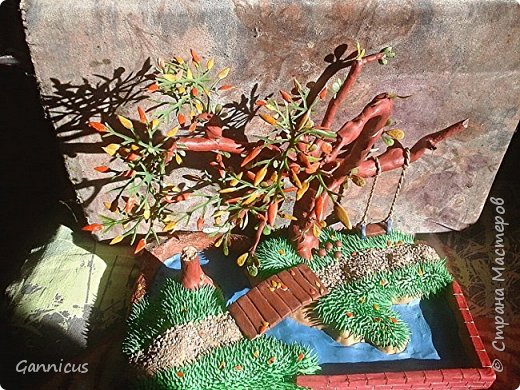 тема осень.из пластилина. фото 3