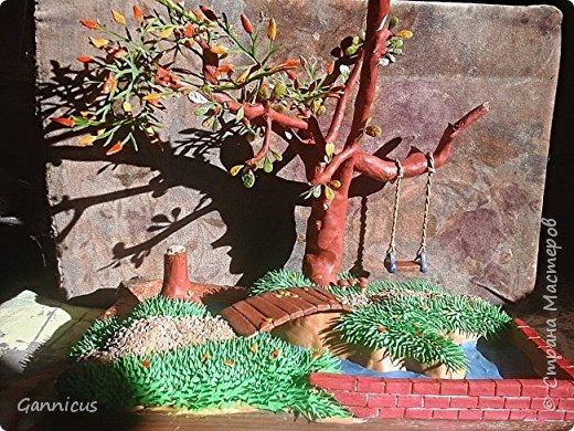 тема осень.из пластилина. фото 2