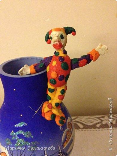 Как я и обещала в прошлом блоге сегодня я выкладываю клоуна сделанного мной 4 года назад. фото 4