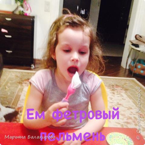 В этом блоге я покажу еду из фетра . Я ее сшила из фетра своими руками для своей младшей сестры. фото 3