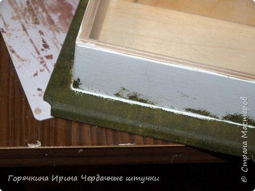 Сразу оговорюсь....этот МК делался 3 года назад. За это время многое было пересмотрено. В конце МК я опишу, какие ошибки здесь были мной допущены.....порой, увидев ошибки - учишься большему.... Ссылка на первую часть http://stranamasterov.ru/node/1045789    Решила смешать эти краски для тонирования бортов купюрницы фото 5