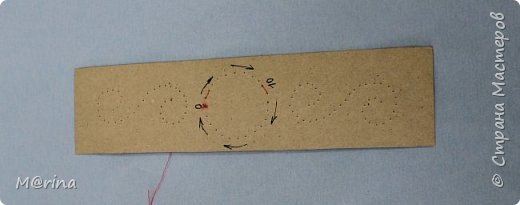 Приближается новый учебный год, и я хочу предложить вам сделать оригинальную закладку для школьных учебников в технике изонити.   фото 11
