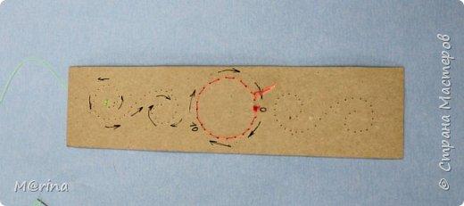 Приближается новый учебный год, и я хочу предложить вам сделать оригинальную закладку для школьных учебников в технике изонити.   фото 18