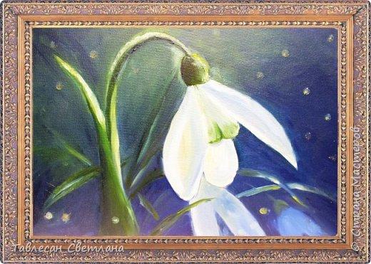 Живопись - мое новое увлечение)) Мои первые картины маслом. 1. Гортензия на балконе. Холст, масло. 60х60 фото 11