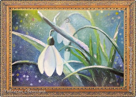 Живопись - мое новое увлечение)) Мои первые картины маслом. 1. Гортензия на балконе. Холст, масло. 60х60 фото 12