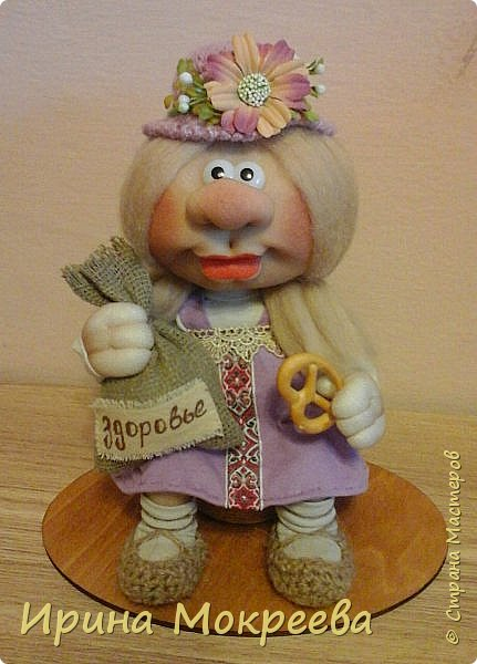 Здравствуйте,жители страны мастеров, хочу показать вам подружек  для маленьких домовят. фото 3