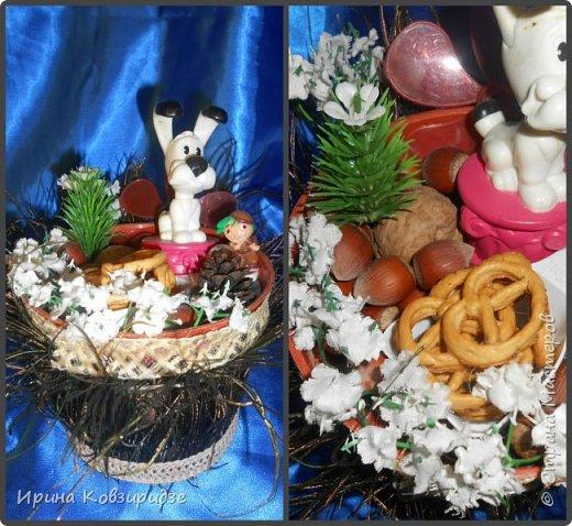 Никогда не выбрасываю торфяные горшочки, а делаю для детей сувениры в подарок Горшочек с павлиньими перьями вместо травки фото 3