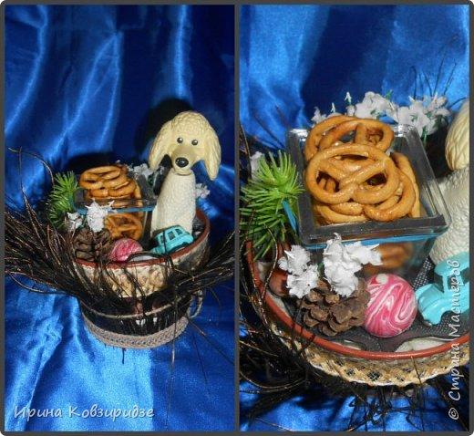 Никогда не выбрасываю торфяные горшочки, а делаю для детей сувениры в подарок Горшочек с павлиньими перьями вместо травки фото 4