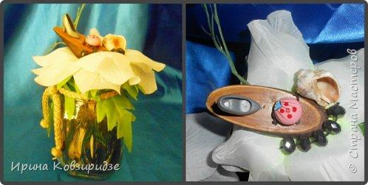 Собрались у меня баночки из-под кофе. Решила наделать маленьких подарков друзьям. Внутри- сухоцветы, сверху искусственный цветок и игрушки из киндер-сюрприза фото 7