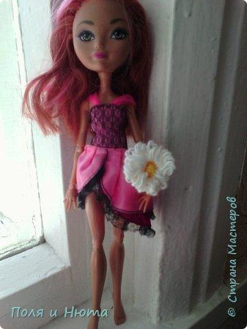 Всем привет сегодня мы будем делать украшение для куклы.Это бюджетный вариант для поделки,надеемся вам понравится.И кстати у нас новенькая ,увидети её в фотосессии.Что-то заболтались и так начнем. фото 15