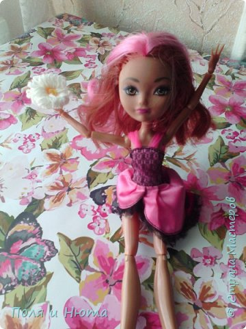 Всем привет сегодня мы будем делать украшение для куклы.Это бюджетный вариант для поделки,надеемся вам понравится.И кстати у нас новенькая ,увидети её в фотосессии.Что-то заболтались и так начнем. фото 19