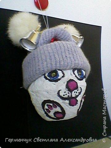 Кролик из бросового материала -папье маше фото 5