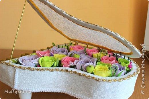 Всем Светлого настроения, выбралась наконец выложить что нибудь в Страну мастеров. Сегодня выбор пал на свадебнцю тематику, так как сейчас как раз сезон свадеб. Хочу похвастаться своими наработками- это парусник и рояль. Спасибо за вдохновение и мк Ирину Цыбун, Ирину Тхоривскую, Наталью Пецкус.   фото 7