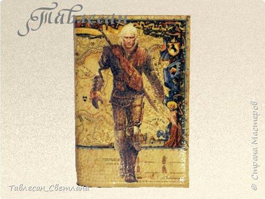 Обложки в технике декупаж. Почти все обложки с объемными элементами, прорисовкой контурами и пр. декором 1. Ван Гог. Ирисы фото 16