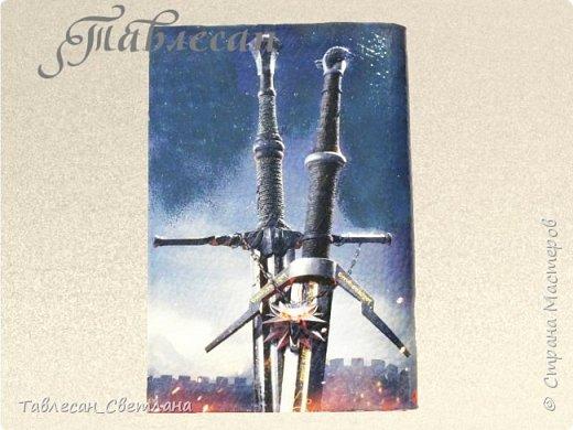Обложки в технике декупаж. Почти все обложки с объемными элементами, прорисовкой контурами и пр. декором 1. Ван Гог. Ирисы фото 26