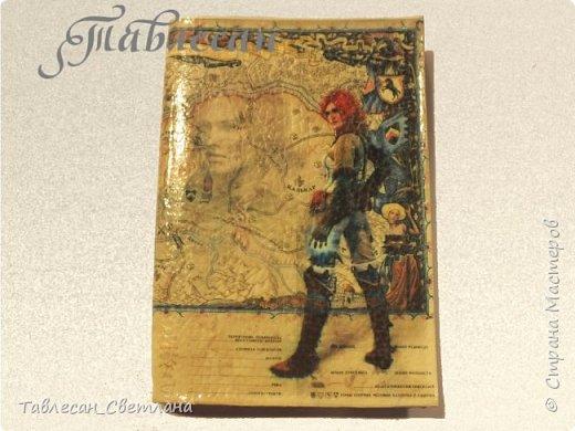Обложки в технике декупаж. Почти все обложки с объемными элементами, прорисовкой контурами и пр. декором 1. Ван Гог. Ирисы фото 19