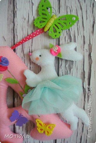 Добрый день страна!!Покажу сегодня свое шитье. Это именные гирлянды из фетра, декоративные цифры на рождение малышей и подушечки . фото 10