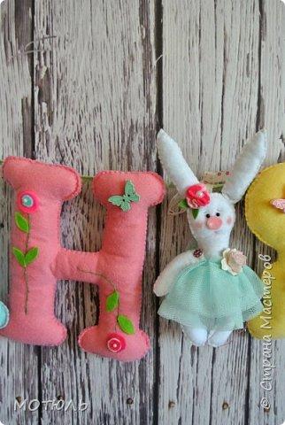 Добрый день страна!!Покажу сегодня свое шитье. Это именные гирлянды из фетра, декоративные цифры на рождение малышей и подушечки . фото 15