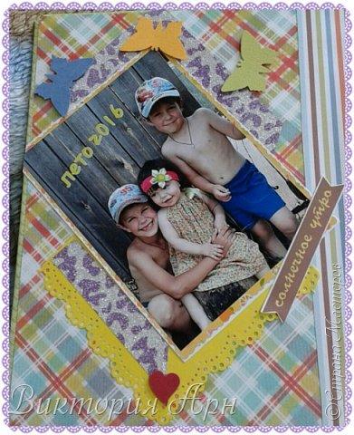 Открытка и мини топик магнит по летнему обмену открытками фото 14