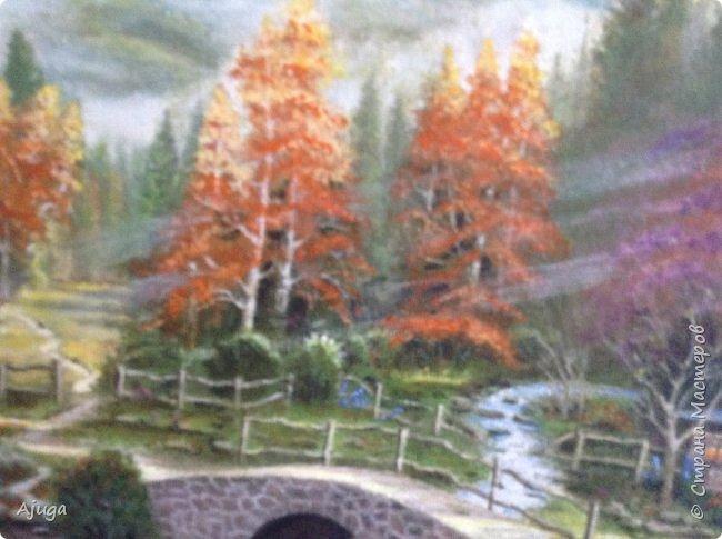 Очень люблю картины Томаса Кинкейда, американского живописца, Очень захотелось  его покопировать, поподражать ему и вот что у меня получилось . фото 18