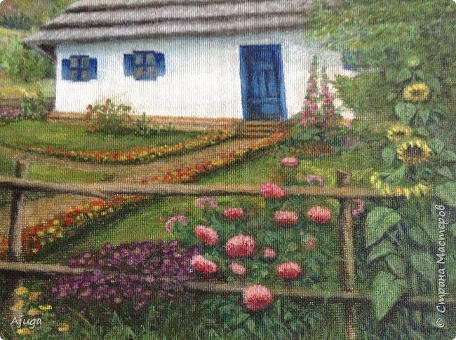 Очень люблю картины Томаса Кинкейда, американского живописца, Очень захотелось  его покопировать, поподражать ему и вот что у меня получилось . фото 22