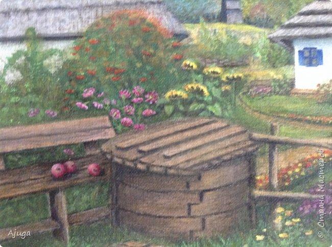 Очень люблю картины Томаса Кинкейда, американского живописца, Очень захотелось  его покопировать, поподражать ему и вот что у меня получилось . фото 24