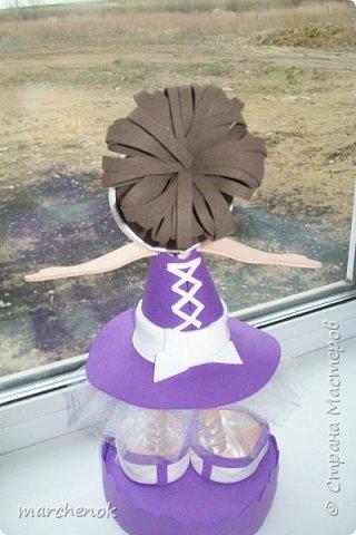 Первая и пока единственная моя куколка из фома, делала просто по картинке, наугад фото 3