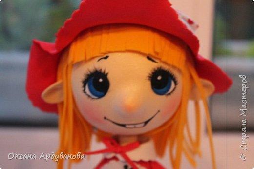 Вот такая озорная красная шапочка получилась!!! фото 5
