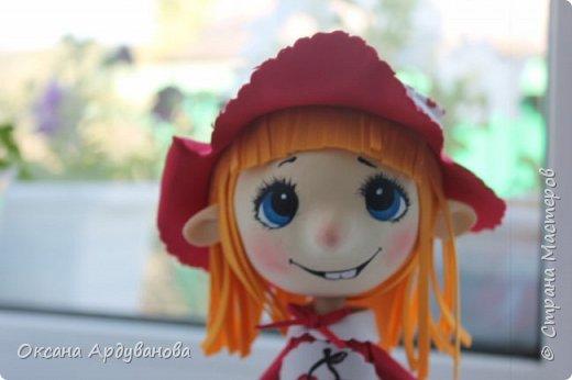 Вот такая озорная красная шапочка получилась!!! фото 2