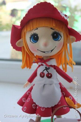 Вот такая озорная красная шапочка получилась!!! фото 4
