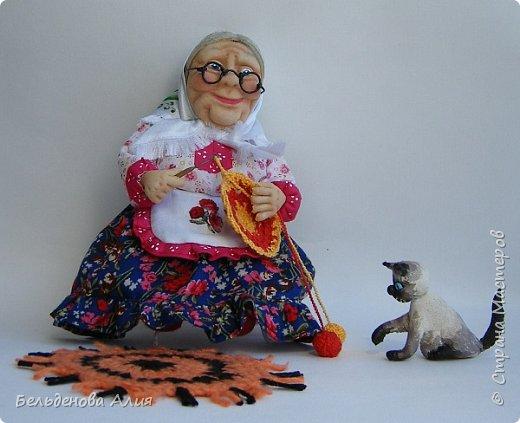 """Очень мне нравится шить наряды куклам, поэтому и сделала такую бабушку. Здесь есть где """"разгуляться"""". фото 6"""
