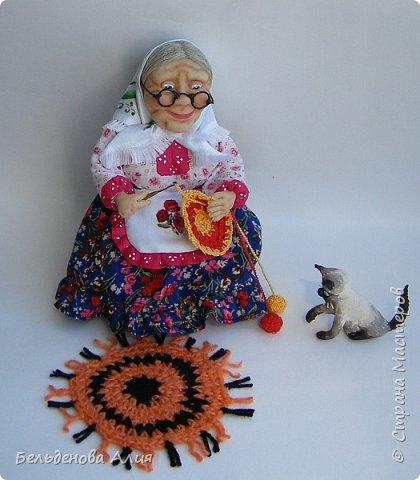 """Очень мне нравится шить наряды куклам, поэтому и сделала такую бабушку. Здесь есть где """"разгуляться"""". фото 7"""