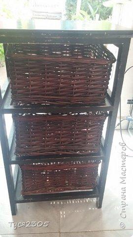 вот такой стала эта этажерка или тумбочка или не знаю как это звать )) фото 2