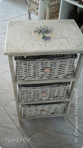 вот такой стала эта этажерка или тумбочка или не знаю как это звать )) фото 1