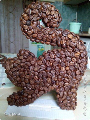 Очень давно хотела сделать котенка из кофе!и вот наконец воплотила это в жизнь! Может кого-то это тоже вдохновит!) фото 2