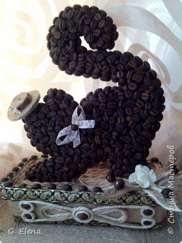 Очень давно хотела сделать котенка из кофе!и вот наконец воплотила это в жизнь! Может кого-то это тоже вдохновит!) фото 5