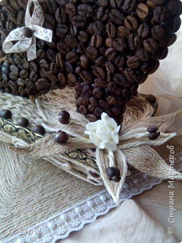 Очень давно хотела сделать котенка из кофе!и вот наконец воплотила это в жизнь! Может кого-то это тоже вдохновит!) фото 6