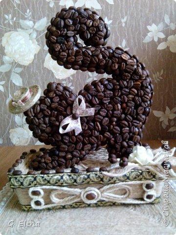 Очень давно хотела сделать котенка из кофе!и вот наконец воплотила это в жизнь! Может кого-то это тоже вдохновит!) фото 1