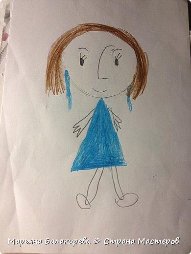 В этой записи я бы хотела разместить работы моей младшей сестры ( 5 лет ).Вот этого зайчика она сделала из соленого теста. фото 3