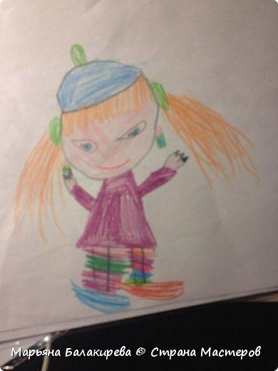 В этой записи я бы хотела разместить работы моей младшей сестры ( 5 лет ).Вот этого зайчика она сделала из соленого теста. фото 5