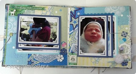 Внуку исполнилось уже 4 года. Альбом посвящен только первым двум месяцам его жизни. Сделала в подарок ко дню рождения. фото 14