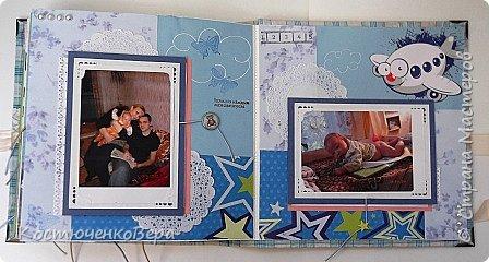 Внуку исполнилось уже 4 года. Альбом посвящен только первым двум месяцам его жизни. Сделала в подарок ко дню рождения. фото 21