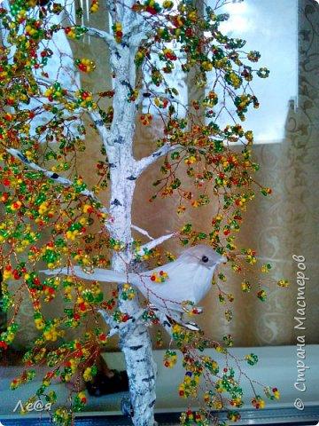 Всем мастерам большой приветик! Скоро осень и вот такое деревце получилось фото 5