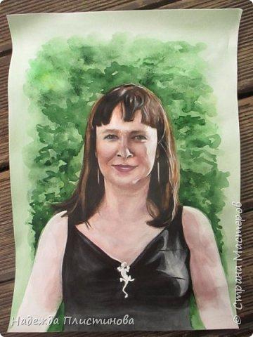 Портрет в подарок ко Дню Рождения. фото 3