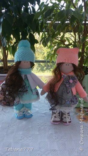 Страна добрый день! Сегодня я покажу свои первые куколки, очень давно я хотела попробовать и вот они!!!  фото 1