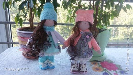 Страна добрый день! Сегодня я покажу свои первые куколки, очень давно я хотела попробовать и вот они!!!  фото 5