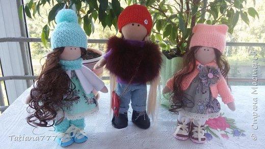 Страна добрый день! Сегодня я покажу свои первые куколки, очень давно я хотела попробовать и вот они!!!  фото 6
